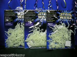Star-Wars-EPISODE-1-Illuminations-GLOW-IN-THE-DARK-Wall-Scenes-Choose-The-Pack