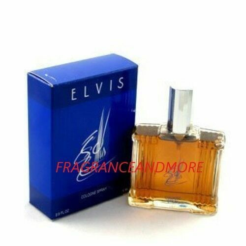 Elvis Presley 2.5 Fl.oz. 74ml Cologne
