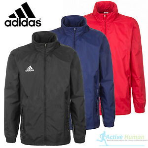 Mens Adidas Rain Jacket Waterproof Sports Coat Running Cycling ...