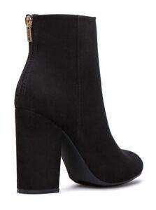 ShoeDazzle Elvia Faux Suede Boots Size
