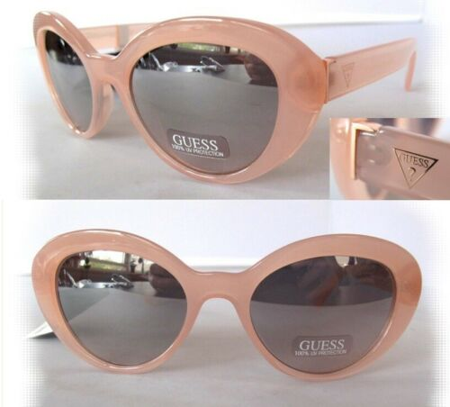 NWT GUESS GF0348 Womens Sunglasses Pink//Mirror $75