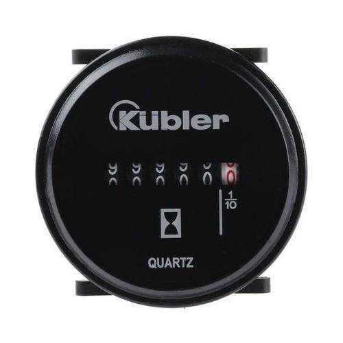 1 x Kubler Hour Counter, 6 digits, Tab Connection, 1080V dc