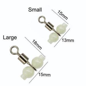 100pcs-3-Way-Luminous-Cross-Line-Rolling-Fishing-Swivel-Fishing-Line-Connector