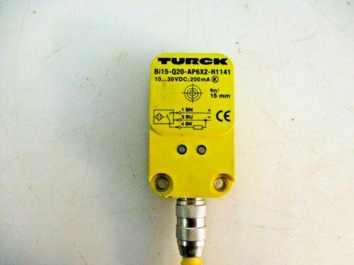 TURCK PROXIMITY SERSOR 10-30VDC;200MA BI15-AP6X2-H1141