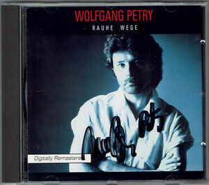 Wolfgang-Petry-Rauhe-Wege-1996-CD-mit-original-handsigniertem-Booklett