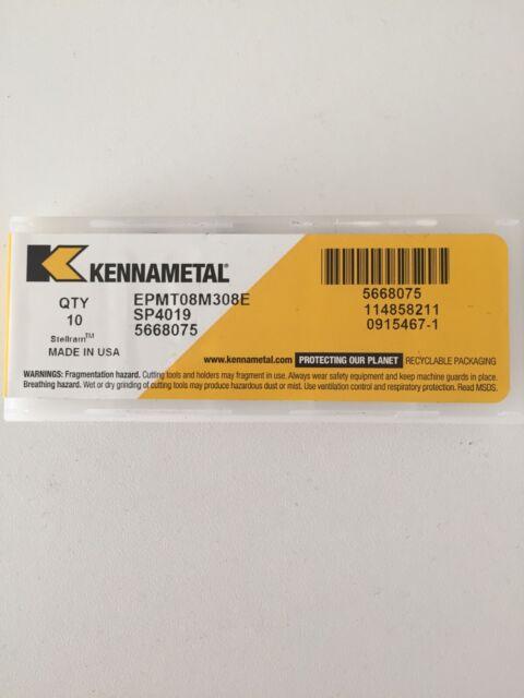 KENNAMETAL CARBIDE TURNING INSERTS CNMG 1204 12P K313