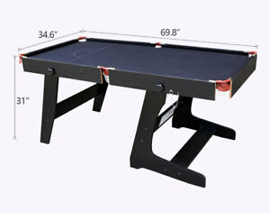 Image Is Loading 5 8 Ft Snooker Billiards Table With Snooker