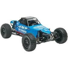 Associated SC10B RS RTR Blue 9050 Radio Brushless Motor ESC Painted Body