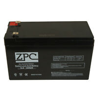 Zpc 12v 9ah Sealed Lead Acid Battery For Ub1280 Apc Smartups 450 450net 600