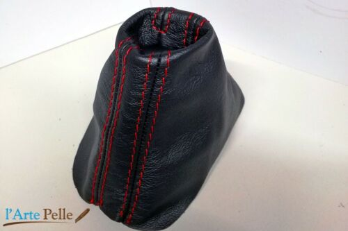 AUDI A3 DSG shift boot black genuine leather