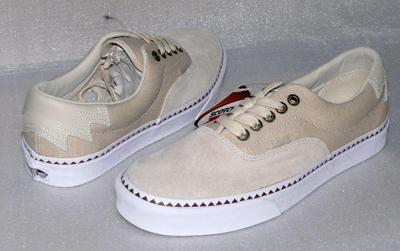 Vans ERA 59 Native DX Turnschuhe Turnschuhe Turnschuhe Canvas Skate low cut Herren Schuhe EU42 US9 Natur 3a1ddc