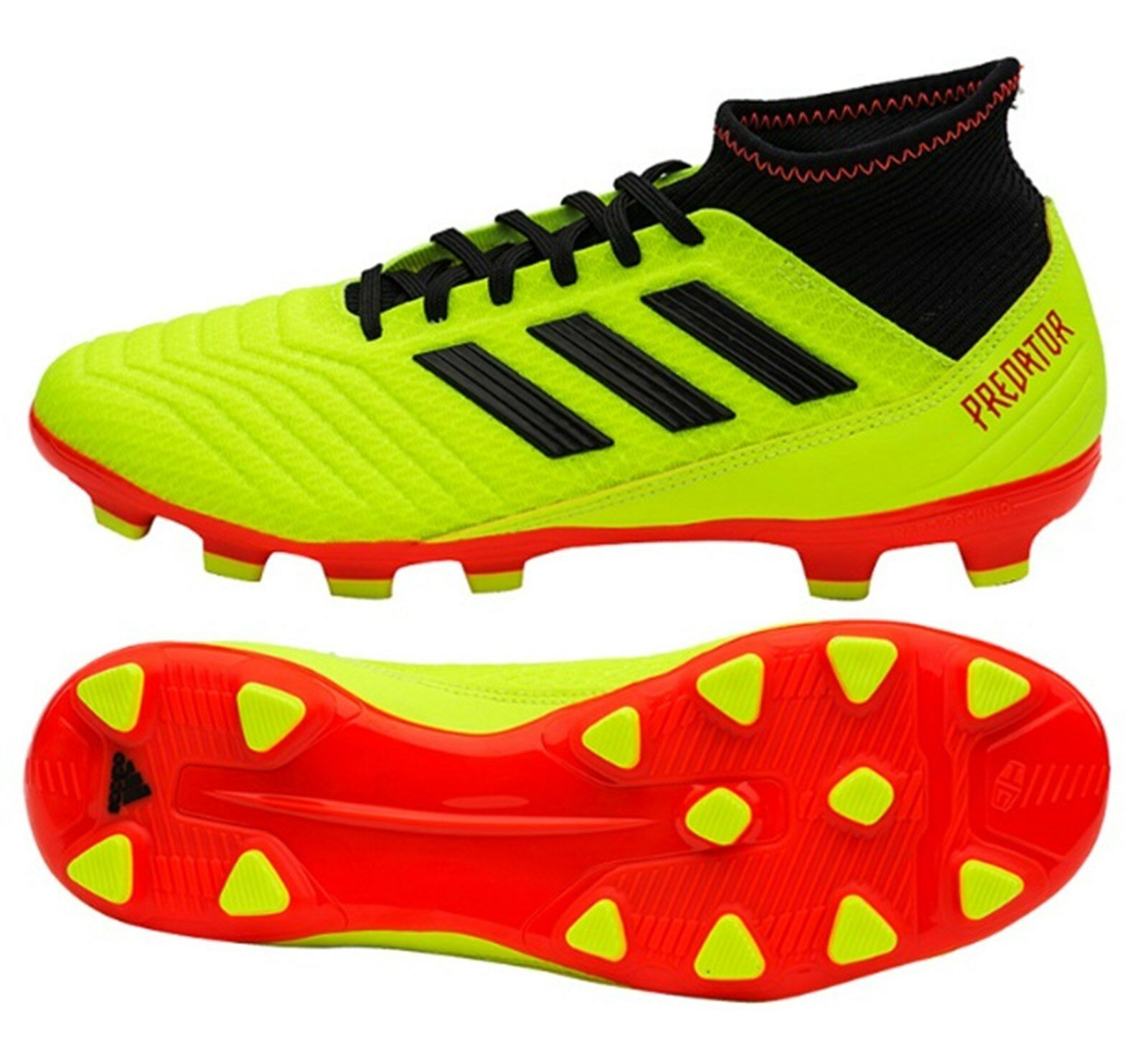 Adidas Hommes Prougeator Tango 18.3 HG Cleats Lime Soccer Football chaussures Spike BB6941