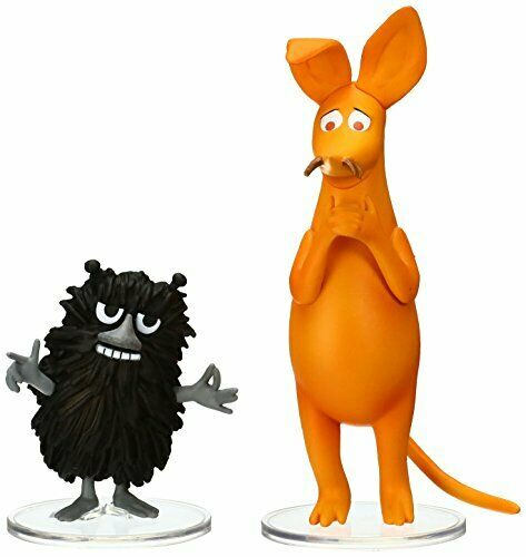 UDF MOOMIN Series 2 sniff & Stinky (Set of 2) made of non-scale PVC painted