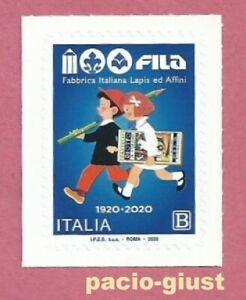 Italia-2020-FILA-FABBRICA-ITALIANA-DI-LAPIS-ED-AFFINI-Francobollo-singolo