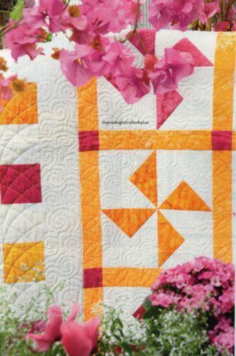 Summer Breeze Quilt Pattern Pieced CT