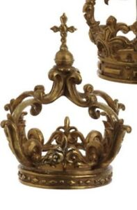 NWT-Raz-Imports-10-5-034-Gold-Crown-Easter-Decor
