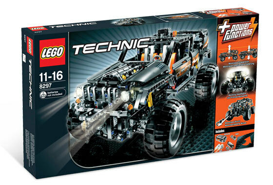 NEW Lego TECHNIC Modelll 8297 Off Roader Meerled Boys Girls Ships Welt Wide