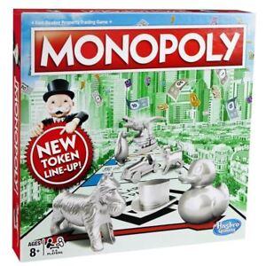 Hasbro-Monopoly-RAPIDO-tratar-Familia-Comercio-propiedades-Juego-de-mesa