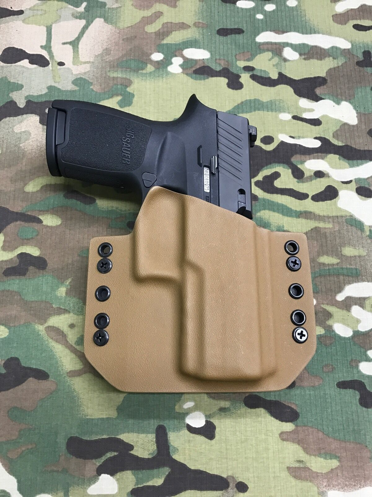 Coyote Tan Kydex Holster SIG P320 X-Carry