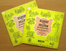 LK 4027/8 Gilbert & Sullivan Ruddigore D'Oyly Carte Opera 2xLP Decca Mono EX/EX