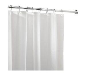 Shower Curtain Liner Mold Mildew Resistant Bathroom Water Repellent Pvc Free New Ebay