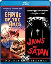 EMPIRE OF THE ANTS + JAWS OF SATAN New Blu-ray Double Feature Bert I Gordon