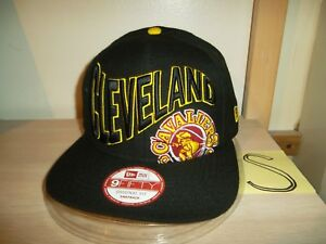newest collection c5ee2 a9468 Image is loading CLEVELAND-CAVALIERS-BASEBALL-CAP-HAT-NEW-ERA-9FIFTY-