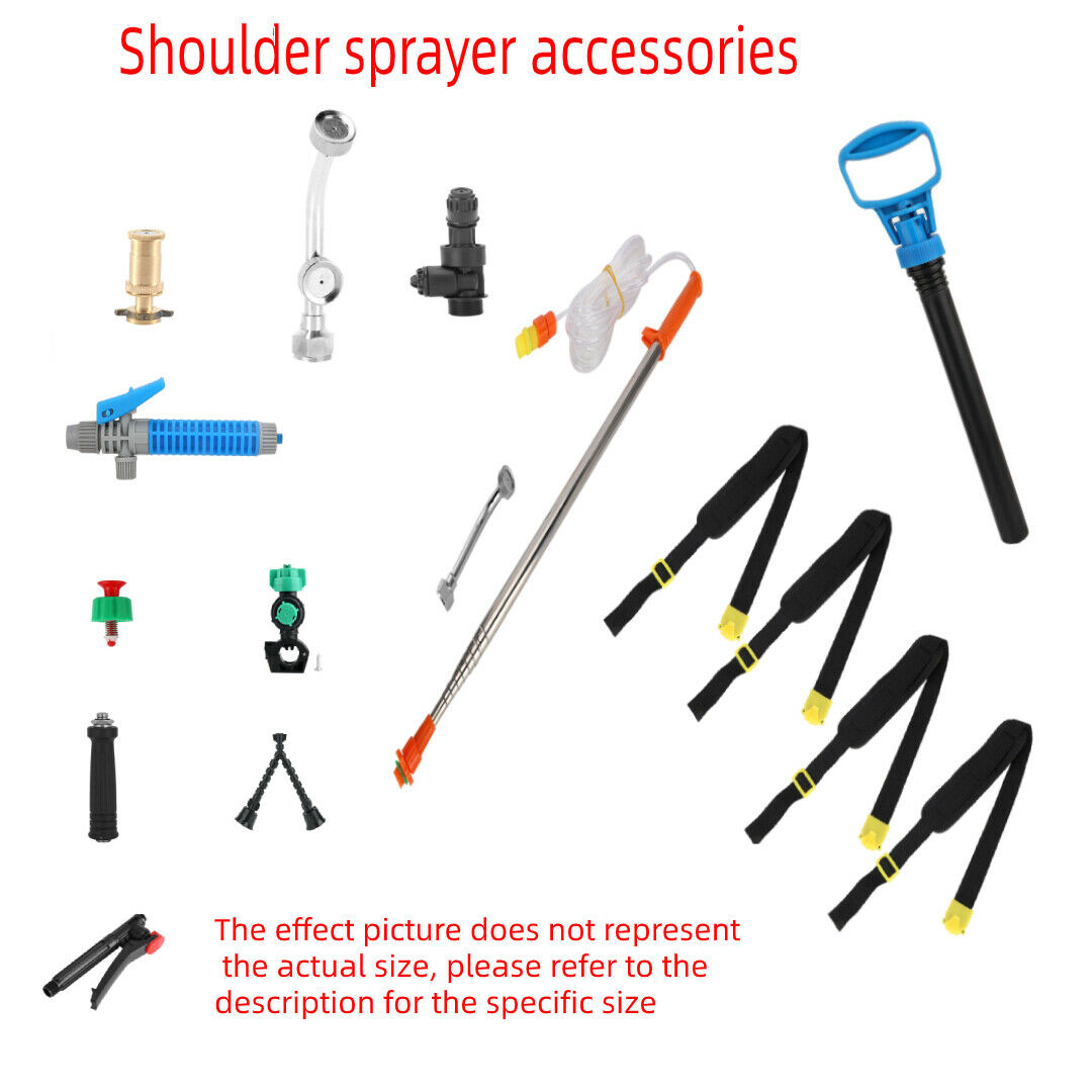 Compressor Pressure Relief Valve Sprayer Kits For 3L/5L/8L Backpack Sprayer
