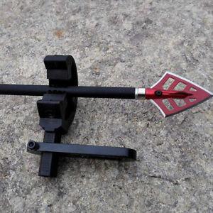 Archery-Compound-Bow-Aluminium-Arrow-Rest-Round-Replacement-Brush-Accesso-I2
