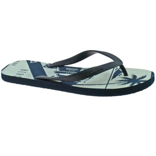 Hommes Urban Beach Gobi Bleu Marine pieds Post Tongs Sandales De Plage