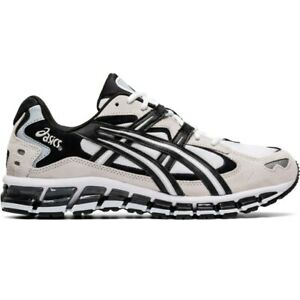 1021A160 102 TRAINER White Black GREY 1021A160102 ASICS Gel Kayano 5 360