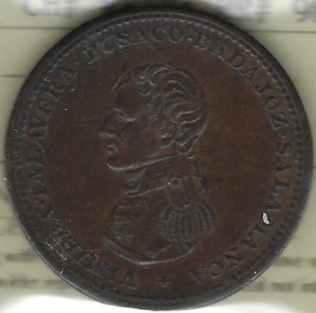 WELLINGTON (1813) Cossack Penny Breton 985, WE-13 ICCS EF40  Inv 3282