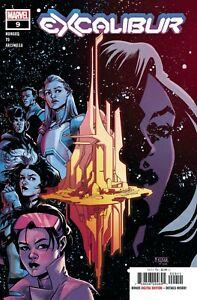 EXCALIBUR-DX-2019-Marvel-Comics-Select-Option-NM-Books-1-2-8-9
