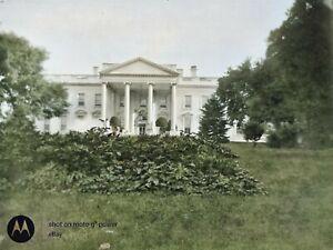 c-1908-White-House-Washington-DC-Vintage-Photo-Dry-Plate-Glass-Negative