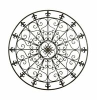 Deco 79 Metal Wall Decor, 42-inch, Black, New, Free Shipping on Sale