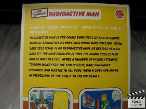 Radioactive Man The Simpsons; Applause NEW Official Episode Collectable
