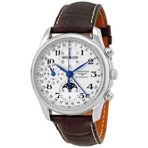 Longines Master Collection GMT Moonphase Men's Watch L2.673.4.78.3 703200120577