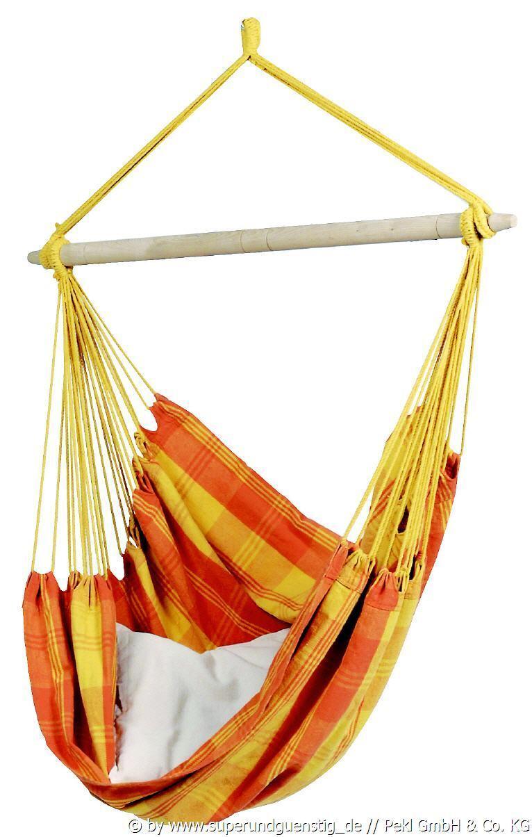 RELAX orange  SWINGER SESSEL HÄNGESESSEL   HÄNGESTUHL VON AMAZONAS 1952230