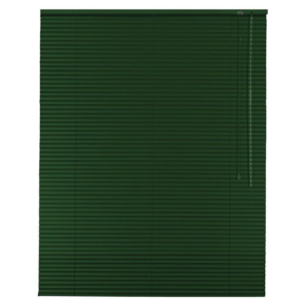 Alu Jalousie Aluminium Jalousette Jalusie Schalusie - Höhe 220 cm dunkelgrün