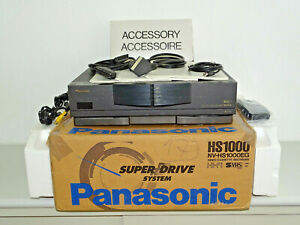 Panasonic NV-HS1000 High-End S-VHS Videorecorder in OVP w.NEU, 2J. Garantie