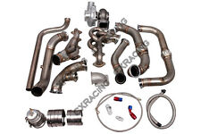 CX Turbo Manifold Header Downpipe Kit For 09-14 Ford F150 F-150 Expedition 5.4L