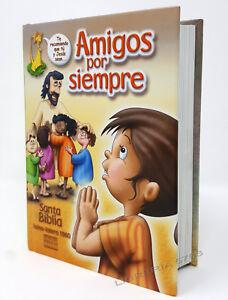 Biblia Amigos Por Siempre Reina Valera 1960 Buena Tapa Dura Completa Con Ilustraciones