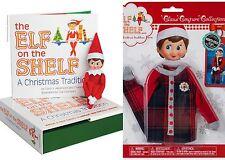 Elf on the Shelf: Blue Eyed Light GIRL Scout Elf with Fa-La-La Footie Pajamas