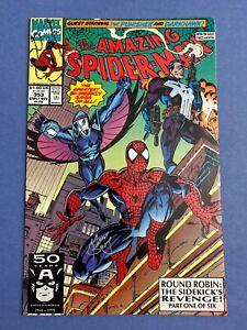 Marvel-AMAZING-SPIDER-MAN-353-Comic-Book-LOT-Signed-MARK-BAGLEY-NM-Darkhawk