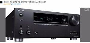 Onkyo TX-RZ710 Network A/V Receiver Windows