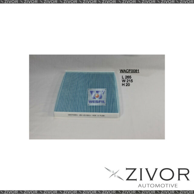 WESFIL CABIN Filter For Fiat Punto 1.3L JTD 07/06-05/10 -WACF0081* By Zivor*