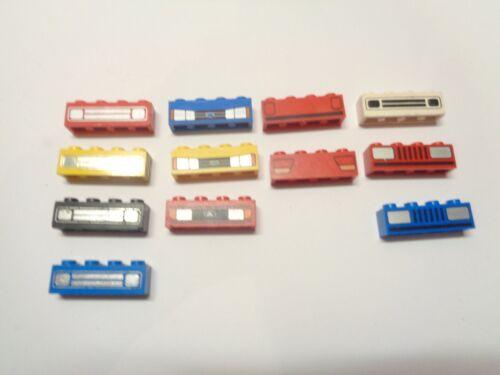 LEGO Brique 1x4 Stickers Brick 3010 choose color
