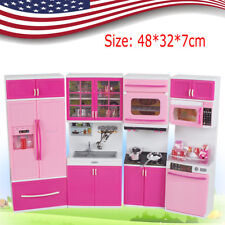 5787ef97a item 2 Pink Sale Kid Kitchen Fun Toy Pretend Play Cook Cooking Cabinet  Stove Set Toy US -Pink Sale Kid Kitchen Fun Toy Pretend Play Cook Cooking  Cabinet ...
