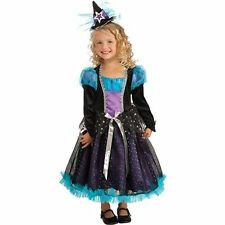 Rubies Starbright Witch Girl's Child Halloween Costume Sz. Small 4/6 - NEW