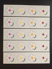 Supreme Flower Mini Sticker Box Logo Sade (Set Of 5)